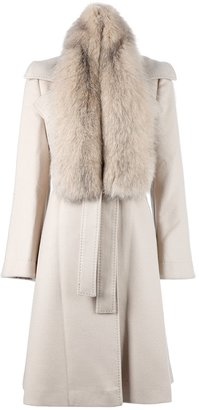 Alberta Ferretti Fox fur coat