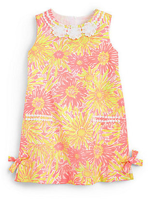 Lilly Pulitzer Toddler's & Little Girl's Little Lilly Glow-In-The-Dark Shift Dress