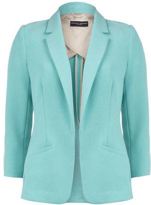 Dorothy Perkins Aqua double crepe blazer