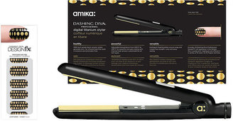 Amika A Night At The Disco Digital Titanium Styler + Applique Set 1 ea