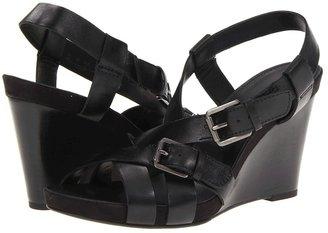 Franco Sarto Hallie (Black Leather) - Footwear