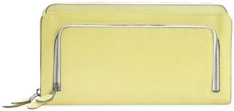Rag and Bone Double Zip Pouch - Yellow