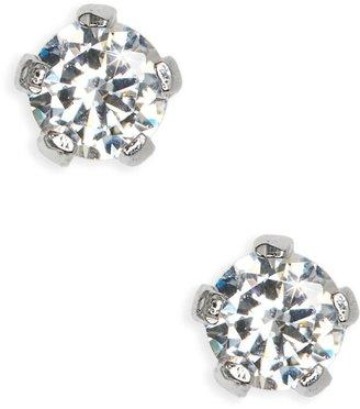 Mignonette Sterling Silver 3mm Earrings
