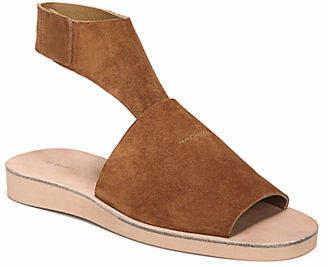 Via Spiga Briar Suede Ankle-Strap Sandals