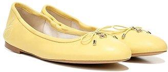 Sam Edelman Felicia (Electric Pink Neon Butter Nappa) Women's Flat Shoes