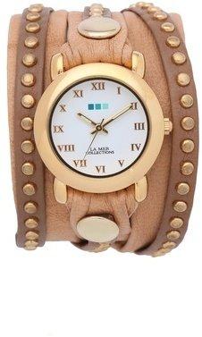 La Mer Bali Stud Wrap Watch