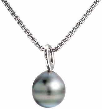 FINE JEWELRY Black Tahitian Pearl Drop Pendant Necklace