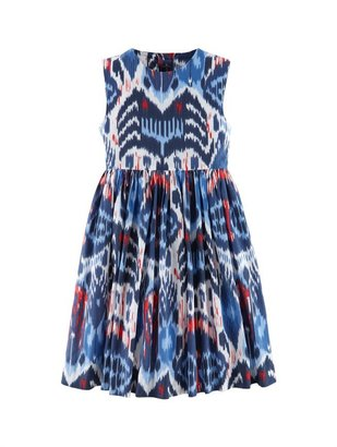 Oscar de la Renta Girls' Ikat Party Dress