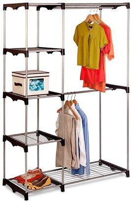 Honey Can Do Double Rob Freestanding Closet