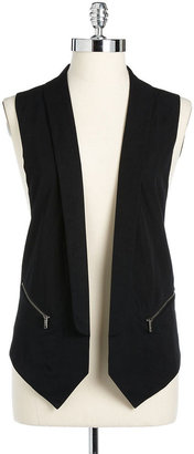 DKNY Mixed Media Vest
