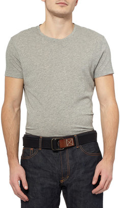 Jean Shop Cotton-Canvas Belt