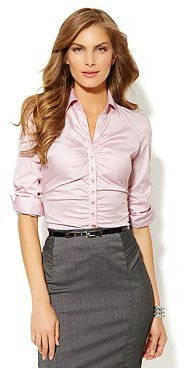New York & Co. The Madison Stretch Shirt - Striped