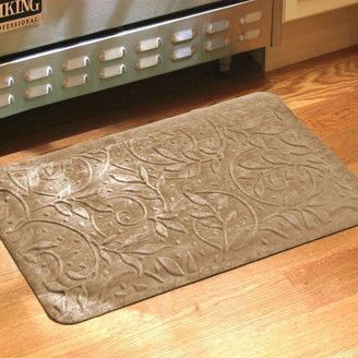 Bed Bath & Beyond Comfort Pro Wisteria 2-Foot x 3-Foot Kitchen Mat in Latte