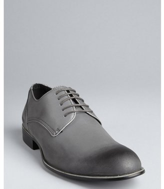 Kenneth Cole Reaction shimmer silver shaded lace up oxfords