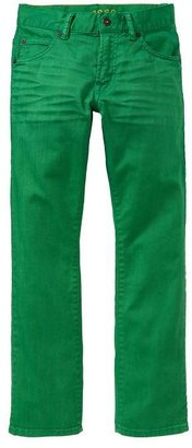 Gap 1969 Bright Green Straight Jeans