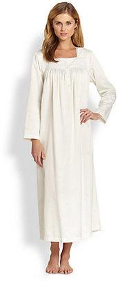 Oscar de la Renta Sleepwear Soft Indulgence Long Gown