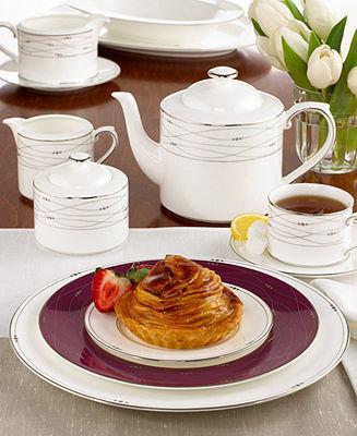 Royal Doulton Dinnerware, Precious Platinum Accent Plate