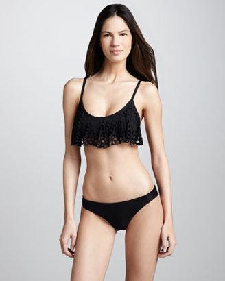 Luxe by Lisa Vogel Opening Night Swim Bottom, Black