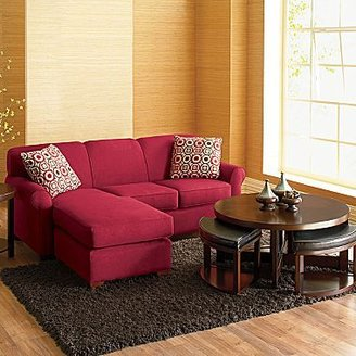 JCPenney 2-pc Chaise Sectional with optional Sleeper