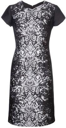 Carolina Herrera lace sheath dress