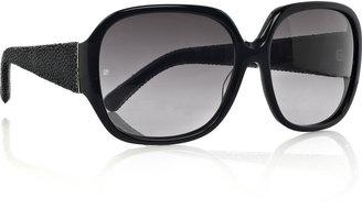 Linda Farrow Luxe Oversized square-frame acetate sunglasses