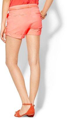 Maison Scotch Belted Chino Shorts