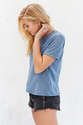 Truly Madly Deeply Vintage-Washed Cropped Tee