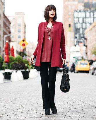 Eileen Fisher Sleeveless Silk Tunic