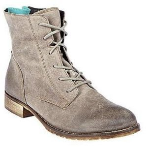Steve Madden Rawling Suede Lace-Up Boots