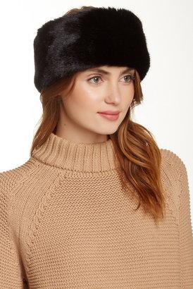 Surell Faux Fur Headband/Collar $65 thestylecure.com