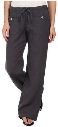 Allen Allen - Linen Long Pant LL9497 Women's Casual Pants $98 thestylecure.com