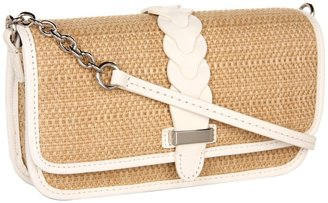 Cole Haan Bedford Flap Crossbody (Ivory/Ivory) - Bags and Luggage