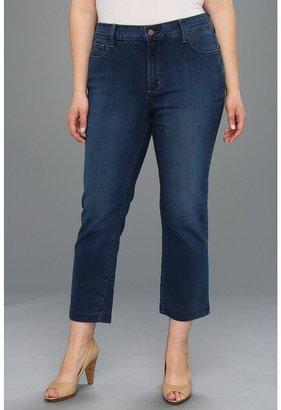 NYDJ Plus Size - Plus Size Audrey Ankle in Syracuse Wash (Syracuse Wash) - Apparel
