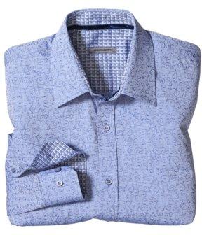 Johnston & Murphy Tailored Fit Tonal Vine Shirt