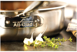 All-Clad d5 Brushed 4 Qt. Saute Pan With Lid