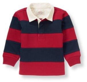 Janie and Jack 01 Stripe Rugby Shirt