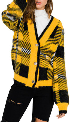 ENGLISH FACTORY Checked Cardigan Sweater