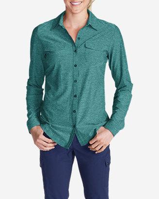 Eddie Bauer Women's Infinity Button-Down Shirt