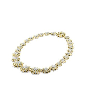 David Yurman Starburst Necklace with Diamonds in Gold