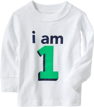 """Old Navy """"I Am 1"""" Tees for Baby"""