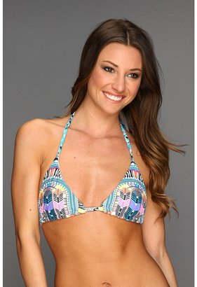 Mara Hoffman Braided Tie-Side Top (Electric Casino Stone) - Apparel