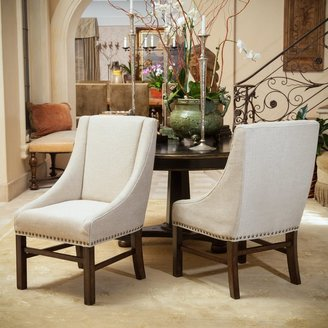 Christopher Knight Home James Contemporary Fabric Upholstered Dining Chairs