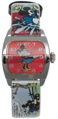 Disney Women's MU1114 Minnie Mouse Comic Watch $29.99 thestylecure.com