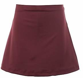 c28ced5bc933 at John Lewis and Partners · Unbranded School Girls' Skort, Maroon