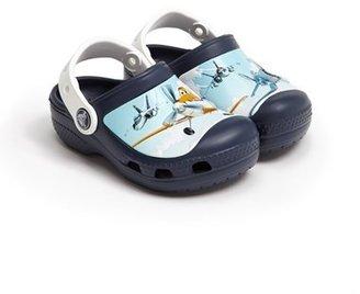 CROCSTM 'Planes' Clog (Walker & Toddler)