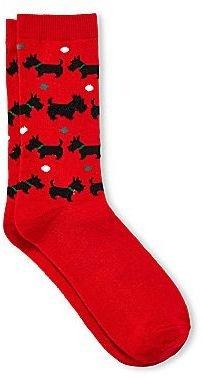 JCPenney Christmas Crew Socks