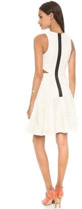 Tibi Sleeveless Cutout Dress