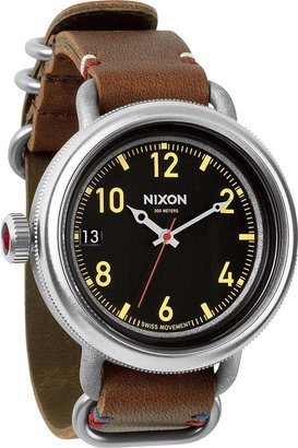 Nixon The October Leather Watch