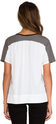 James Perse Colorblock Tee