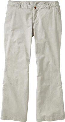 Old Navy Women's Plus Tummy-Trimmer Flare Khakis